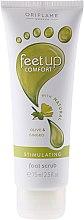 Düfte, Parfümerie und Kosmetik Stimulierendes Fußpeeling mit Gingko und Oliven - Oriflame Feet Up Comfort