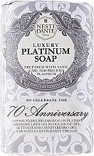Düfte, Parfümerie und Kosmetik Luxuriöse Naturseife Platinum - Nesti Dante Vegetable Luxury Platinum Soap Limited Edition