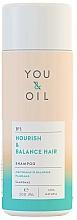 Düfte, Parfümerie und Kosmetik Pflegendes und ausgleichendes Shampoo - You&Oil Nourish & Balance Hair Shampoo