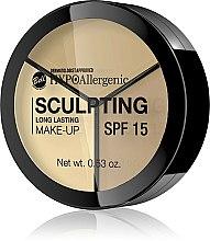 Düfte, Parfümerie und Kosmetik Hypoallergenes Make-up zur Gesichtskonturierung LSF 15 - Bell HypoAllergenic Long Lasting Sculpting Make-Up