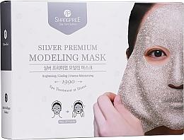 Düfte, Parfümerie und Kosmetik Gesichtspflegeset - Shangpree Silver Premium Modeling Mask (Gesichtsgel 5x50g + Gesichtspuder 5x4,5g)