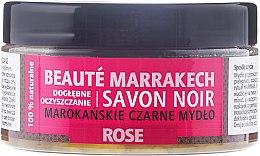 Düfte, Parfümerie und Kosmetik Natürliche marokkanische schwarze Seife mit Damaszener-Rosenöl - Beaute Marrakech Savon Noir Moroccan Black Soap