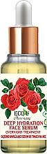 Düfte, Parfümerie und Kosmetik Tief feuchtigkeitsspendendes Nachtserum für das Gesicht - Eco U Natural Face Serum Deep Hydration Overnight Treatment
