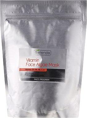 Alginat-Gesichtsmaske mit Vitaminen B3, B5, B6, C und E - Bielenda Professional Program Face Vitamin Face Algae Mask (Nachfüller) — Bild N1
