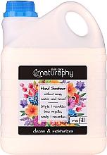 Antibakterielle Handseife - Bluxcosmetics Naturaphy Hand Sanitizer — Bild N3