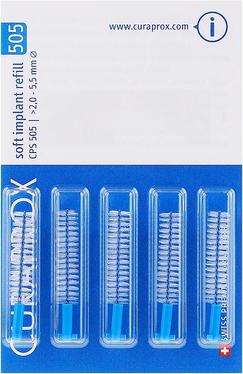 Interdentalbürsten-Set CPS 505 5 St. - Curaprox Soft Implant — Bild N1