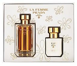 Prada La Femme Prada - Duftset (Eau de Parfum/100ml + Körperlotion/100ml) — Bild N4