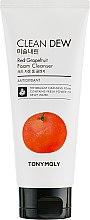 Düfte, Parfümerie und Kosmetik Gesichtsreinigungsschaum mit roter Grapefruit - Tony Moly Clean Dew Foam Cleanser Grapefruit