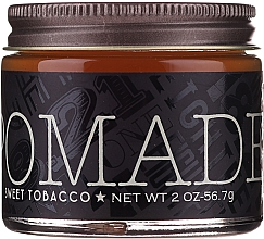 Düfte, Parfümerie und Kosmetik Haarpomade Süßer Tabak Mittlerer Halt - 18.21 Man Made Hair Pomade Sweet Tobacco Styling Product Medium Hold