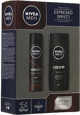 Duftset - Nivea Men Espresso Effect (Duschgel 250ml + Deodorant 150ml) — Bild N1