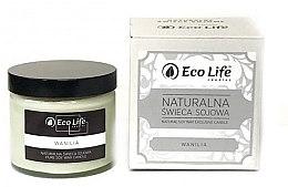 Düfte, Parfümerie und Kosmetik Soja-Duftkerze Vanilla - Eco Life Soy Wax Candles