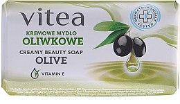 Düfte, Parfümerie und Kosmetik Cremige Seife mit Vitamin E und Olive - Vitea Cream Soap