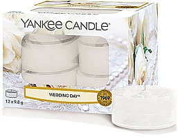 Düfte, Parfümerie und Kosmetik Teelichte Wedding Day - Yankee Candle Scented Tea Light Wedding Day