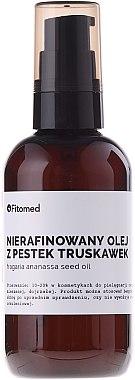 Unraffiniertes Erdbeersamenöl für den Körper - Fitomed Oil — Bild N1