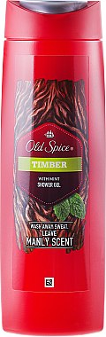 Duschgel - Old Spice Timber Shower Gel — Bild N1