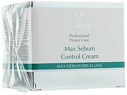 Düfte, Parfümerie und Kosmetik Normalisierende und mattierende Gesichtscreme - Clarena Bio Dermasebum Line Max Sebum Control Cream