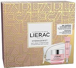 Düfte, Parfümerie und Kosmetik Gesichtspflegeset - Lierac Hydragenist (Gel-Creme 50ml + Augencreme 15ml + Kosmetiktasche)