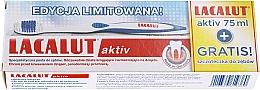 Düfte, Parfümerie und Kosmetik Zahnpflege-Set - Lacalut Activ Paradontosis (Zahnpasta 75ml + Zahnbürste1 St.)