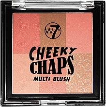 Düfte, Parfümerie und Kosmetik Mehrfarbiges Rouge - W7 Cheeky Chaps Multi Blush