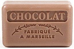 Düfte, Parfümerie und Kosmetik Handgemachte Naturseife Chocolat - Foufour Savonnette Marseillaise Chocolat