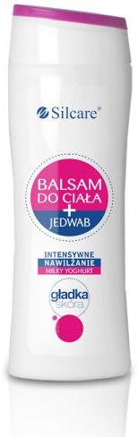 Intensiv feuchtigkeitsspendender Körperbalsam mit Seidenproteinen und Milchjoghurt - Silcare Milky Yoghurt Body Balm — Bild N1