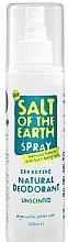 Düfte, Parfümerie und Kosmetik Natürliches Deospray - Salt of the Earth Natural Deodorant Spray
