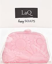 Düfte, Parfümerie und Kosmetik Handgemachte Naturseife Geldbeutel mit Kirschduft - LaQ Happy Soaps Natural Soap