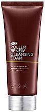 Düfte, Parfümerie und Kosmetik Reinigungsschaum mit Bienenpollen und Honigextrakt - Missha Bee Pollen Renew Cleansing Foam