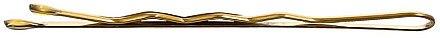 Haarnadeln 4 cm gold - Lussoni Waved Hair Grips 4 cm Golden — Bild N1