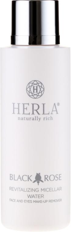 Revitalisierendes Mizellenwasser zum Abschminken - Herla Black Rose Revitalizing Micellar Water — Bild N2