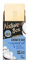 Düfte, Parfümerie und Kosmetik Feste Seife mit Kokosnussöl - Nature Box Coconut Oil Shower Bar