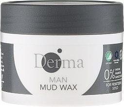 """Düfte, Parfümerie und Kosmetik Haarwachs """"Repair & Style"""" für trockenes & strapaziertes Haar - Derma Man Mud Wax"""