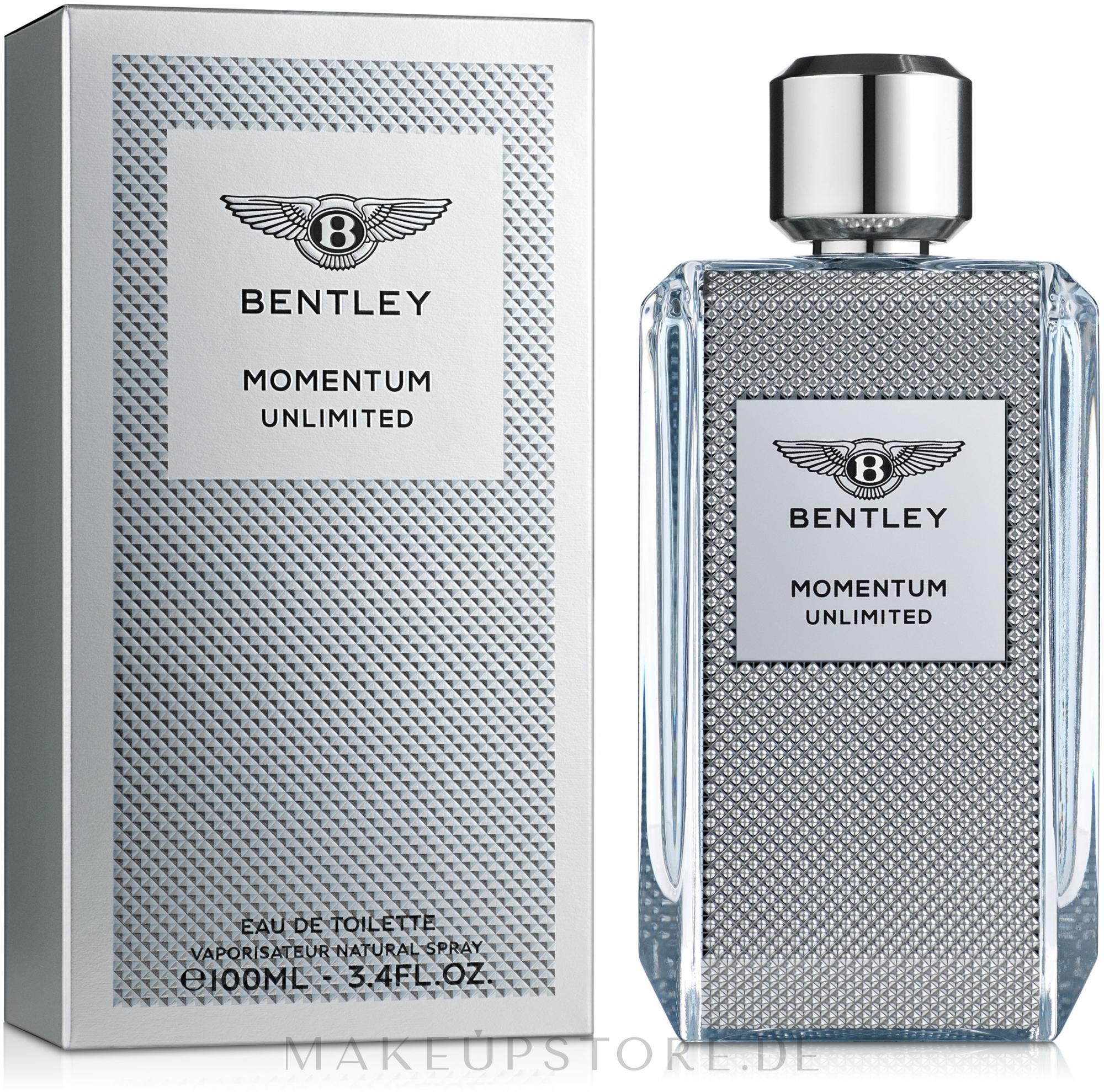 Bentley Momentum Unlimited - Eau de Toilette  — Bild 100 ml