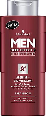 3-Fach-Effekt Shampoo zur Stimulierung des Haarwachstums - Schwarzkopf Men A+ Arginin+ Shampoo — Bild N1