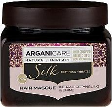 Haarmaske mit Seidenproteinen - Arganicare Silk Hair Masque — Bild N3