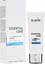 Düfte, Parfümerie und Kosmetik Reichhaltige Gesichtscreme mit Macadamiaöl für trockene Haut - Babor Essential Care Lipid Balancing Cream