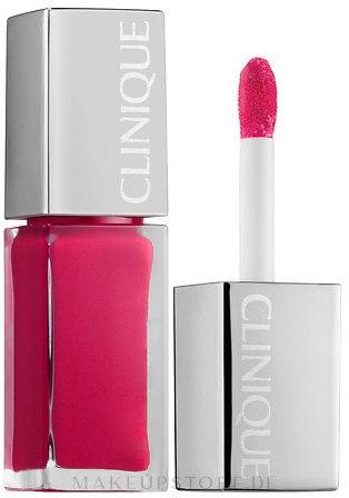 Lipgloss - Clinique Pop Lacquer Lip Colour Primer — Bild Go-Go Pop