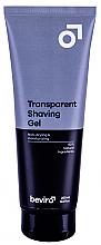 Düfte, Parfümerie und Kosmetik Feuchtigkeitsspendendes Rasiergel - Be-viro Men?s Only Transparent Shaving Gel