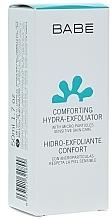 Düfte, Parfümerie und Kosmetik Sanftes feuchtigkeitsspendendes Gesichtspeeling - Babe Laboratorios Comforting Hydra-Exfoliator