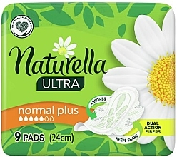 Düfte, Parfümerie und Kosmetik Damenbinden mit Flügeln Ultra Normal Plus 9 St. - Naturella Ultra Normal Plus