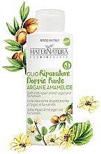 Düfte, Parfümerie und Kosmetik Arganöl für das Haar mit Hamamelisblattextrakt - MaterNatura