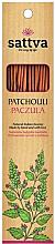 Düfte, Parfümerie und Kosmetik Räucherstäbchen Patchouli - Sattva Patchouli Incense Sticks