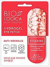 Düfte, Parfümerie und Kosmetik Augenpatches gegen Falten mit Platinpulver - Biologica Collagen