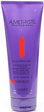 Tönungsmaske für rote Nunacen - FarmaVita Amethyste Colouring Mask Intense Red — Bild N1