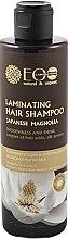 Düfte, Parfümerie und Kosmetik Glättendes Haarshampoo mit Kobushi-Magnolie - ECO Laboratorie Laminating Hair Shampoo