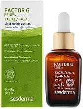 Düfte, Parfümerie und Kosmetik Anti-Aging Gesichtsserum mit Liposomen - SesDerma Laboratories Factor G Lipid Bubbles Facial Serum