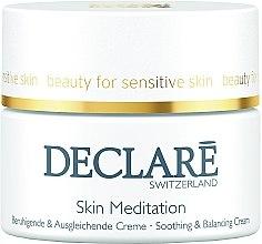 Düfte, Parfümerie und Kosmetik Beruhigende und ausgleichende Gesichtscreme gegen Rötungen - Declare Skin Meditation Soothing & Balancing Cream