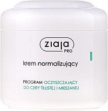 Düfte, Parfümerie und Kosmetik Normalisierende Gesichtscreme für fettige und Mischhaut - Ziaja Pro Normalizing Cream