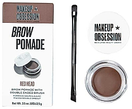 Düfte, Parfümerie und Kosmetik Augenbrauenpomade - Makeup Obsession Brow Pomade