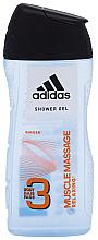 Düfte, Parfümerie und Kosmetik 3in1 Duschgel - Adidas 3in1 Muscle Massage Shower Gel